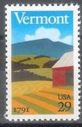 1991 29 Cents Vermont, Mint Never Hinged - Stati Uniti