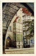 GERMANIA  NIEDERSACHSEN  HILDESHEIM Erker Des Tempelherrenhauses  Benutzt Bei Luftpost - Hildesheim