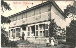 CARTE POSTALE ANCIENNE DE ATTANCOURT  -  VILLA MARIE LOUISE - France