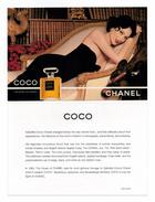 Cartes Parfumées  Carte  CHANEL COCO  De CHANEL RECTO VERSO - Modern (vanaf 1961)
