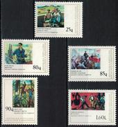 Albania 1978 _ Figurative Arts - National Paintings _ Full Set MNH** - Albania