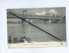 CPA  Très Souple - Arles - Le Rhône Et Le Pont De Trinquetaille - Arles