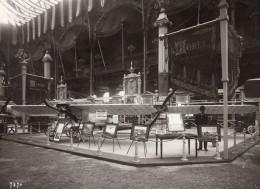 Paris Grand Palais Salon De L'Aeronautique Stand Borel Ancienne Photo Rol 1911