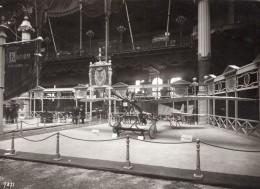 Paris Grand Palais Salon De L'Aeronautique Stand Kauffmann Ancienne Photo Rol 1911