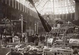 Paris Grand Palais Salon De L'Aeronautique Stand Astra Aviation Ancienne Photo 1911 - Aviazione