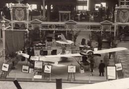 Paris Grand Palais Salon De L'Aeronautique Stand Hutchinson Aviation Ancienne Photo Rol 1911 - Aviation