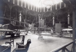 Paris Grand Palais Salon De L'Aeronautique Stand Sloan Bicurve Aviation Ancienne Photo 1911 - Aviation