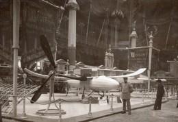 Paris Grand Palais Salon De L'Aeronautique Aéro-torpille Paulhan-Tatin Regy Ancienne Photo 1911
