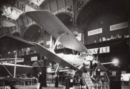 Paris Grand Palais Salon De L'Aeronautique Avion Hanriot D31 Aviation Ancienne Photo Rol 1924