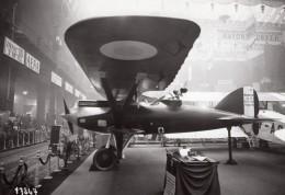 Paris Grand Palais Salon De L'Aeronautique Avion Nieuport 42 Aviation Ancienne Photo Rol 1924