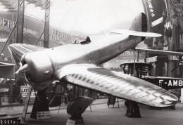 Paris Grand Palais Salon De L'Aeronautique Lorraine Hanriot LH.130 Aviation Ancienne Photo Rol 1932