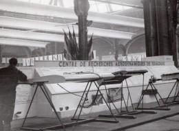 Paris Grand Palais Salon De L'Aeronautique Recherches Aerodynamiques De Toulouse Ancienne Photo 1946