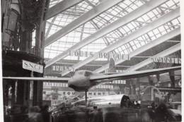 Paris Grand Palais Salon De L'Aeronautique Vue Generale Aviation Ancienne Photo 1946