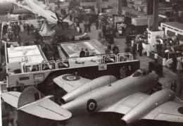 Paris Grand Palais Salon De L'Aeronautique Gloster Meteor Avion De Chasse Ancienne Photo 1946