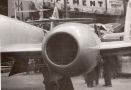 Paris Grand Palais Salon De L'Aeronautique Gloster Meteor Turbojet Ancienne Photo 1946