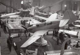 Paris Grand Palais Salon De L'Aeronautique Stand Fairey Aviation Ancienne Photo 1946
