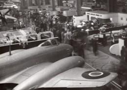 Paris Grand Palais Salon De L'Aeronautique Avion Gloster Meteor Ancienne Photo 1946