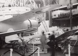 Paris Grand Palais Salon De L'Aeronautique Avion SNCAN Norecrin Ancienne Photo 1946