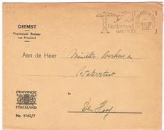 Dienstenveloppe: Provinciaal Bestuur Van Friesland - 1891-1948 (Wilhelmine)