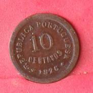 PORTUGAL 10 CENTAVOS 1926 -    KM# 573 - (Nº10103) - Portugal