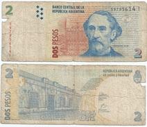 Argentina 2 Pesos 2002, Firma 5 Pick 352.5 Ref 94 - Argentina