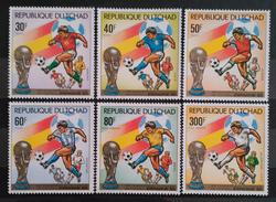 REPÚBLICA DE CHAD 1982 Football World Cup - Spain. NUEVO - MNH ** - Copa Mundial