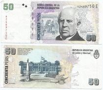 Argentina 50 Pesos 2003 Firma 5 Pick 356 Ref 100 - Argentina