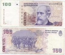 Argentina 100 Pesos 2003 Firma 4 Pick 357.a Ref 134-2 - Argentina
