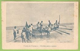 Costa Da Caparica - Partida Para A Pesca. Almada.
