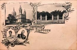 PORTUGAL. LISBOA. GRUSS. SOUVENIR DE LISBONNE - Lisboa