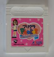 GameBoy Japanese : Purikura Pocket: Fukanzen Joshikousei DMG-APPJ-JPN ( Used ) - Nintendo Game Boy