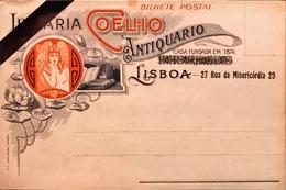 PORTUGAL. LISBOA. GRUSS. LIBRARIA COELHO. ANTIQUARIO. CASA FUNDADA EN 1874. LISBOA. 27 RUA DA MISERICORDIA 29 - Lisboa