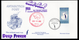Antarctica Post First Issue FDC. - Unclassified
