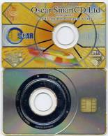 CARTE PUCE Oscar Smart CD Hong Kong - Télécartes