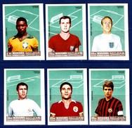 IMPERFORATED. MANAMA 1968. FOOTBALL. 6V MNH** - Soccer