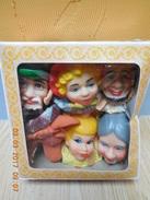 Set De Marionnettes Vintage :le Petit Chaperon Rouge (made In Hong Kong) Jamais Déballé...RARE.... - Puppets