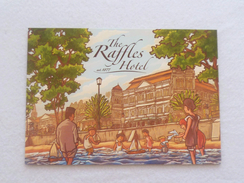 Old Advertisement Postcard -   2014 Singapore The Raffles Hotel (P122-A) - Singapur