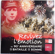 La Bataille De La Somme 90ème Anniversaire Hommage 2006 Ww1 Tommy - Histoire