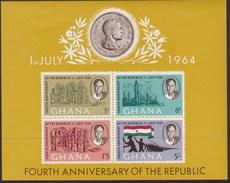 Ghana 1964 Sc 170a Mint Hinged - Ghana (1957-...)