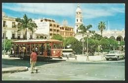 MEXICO Zocalo Y Palacio Municipal Veracruz 1981 - Mexico