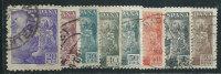 Spagna 1939 Usato - 8v - 1931-50 Usati