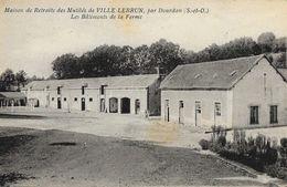 Maison De Retraite Des Mutilés De Ville Lebrun, Par Dourdan - Les Bâtiments De La Ferme - Carte Non Circulée - Health