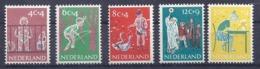 NETHERLANDS, 1959, Mi 739-743 **MNH - Neufs