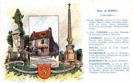 CARTE PUB PASTILLES VALDA DEPARTEMENT DU NORD LILLE - Lille