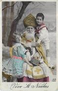 VIVE SAINT NICOLAS - Saint Nicolas Et Enfants. - Natale