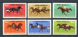 195 ROUMANIE 1974 - Yvert 2828/33 - Course De Chevaux - Neuf **(MNH) Sans Trace De Charniere - Nuovi