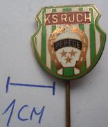 KS RUCH PEPEGE, POLAND  Football Club , SOCCER / FUTBOL / CALCIO PINS BADGES Z2 - Football