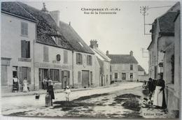77 - CHAMPEAUX - Rue De La Ferronnerie - Bouchinet Serrurerie - Devanture - Cafe - France