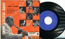 "SWING COLLEGE BAND""EP Vinyle""SIDNEY BECHET ""Serie N°1"" PHILIPS 422.000 - Jazz"