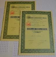 Association D'Enseignement Medical Des Hopitaux De Paris, 2 Actions - Industrie